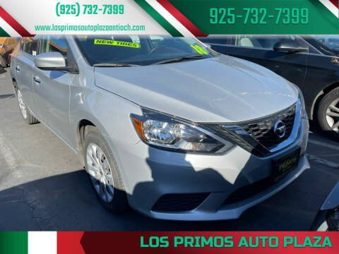 2018 Nissan Sentra for sale at Los Primos Auto Plaza in Antioch CA