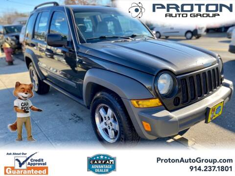 2006 Jeep Liberty for sale at Proton Auto Group in Yonkers NY