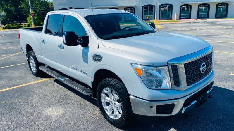 2018 Nissan Titan XD for sale at H & B Auto in Fayetteville AR