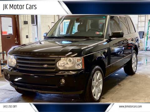 2007 Land Rover Range Rover for sale at JK Motor Cars in Pittsburgh PA