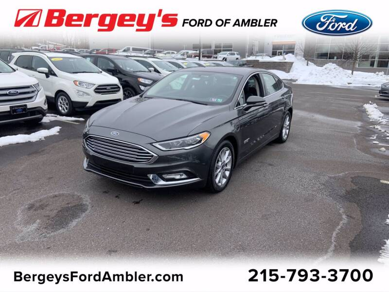 2018 Ford Fusion Energi for sale in Ambler, PA