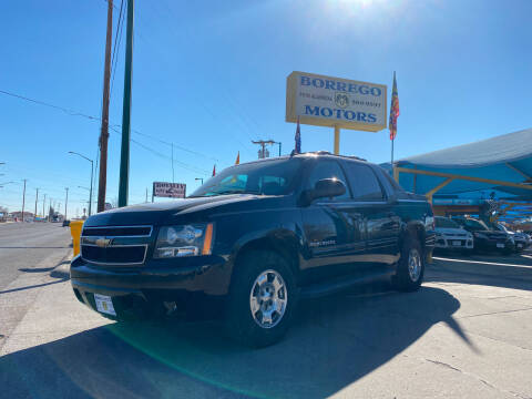2011 Chevrolet Avalanche for sale at Borrego Motors in El Paso TX