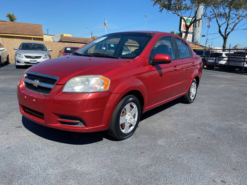 2011 Chevrolet Aveo for sale at ASTRO MOTORS in Houston TX