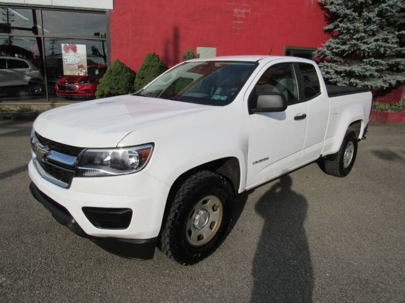 2017 Chevrolet Colorado for sale at Arnold Motor Company in Houston PA