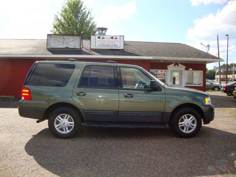 2004 Ford Expedition for sale at G and G AUTO SALES in Merrill WI