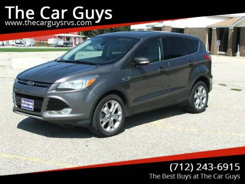 2013 Ford Escape for sale at The Car Guys in Atlantic IA