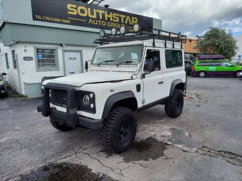 1990 Land Rover Defender for sale at Southstar Auto Group in West Park FL