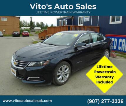 2018 Chevrolet Impala for sale at Vito's Auto Sales in Anchorage AK