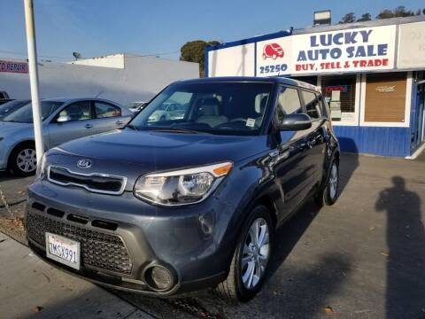 2014 Kia Soul for sale at Lucky Auto Sale in Hayward CA
