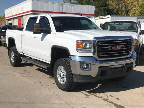 2017 GMC Sierra 2500HD for sale at Central City Auto West in Lewistown MT