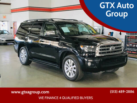 2013 Toyota Sequoia for sale at GTX Auto Group in West Chester OH