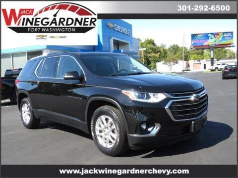 2018 Chevrolet Traverse for sale at Winegardner Auto Sales in Prince Frederick MD