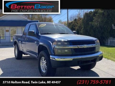 2006 Chevrolet Colorado for sale at Betten Baker Preowned Center in Twin Lake MI