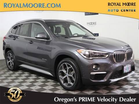 2017 BMW X1 for sale at Royal Moore Custom Finance in Hillsboro OR