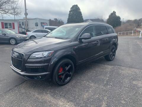 2012 Audi Q7 for sale at Lux Car Sales in South Easton MA