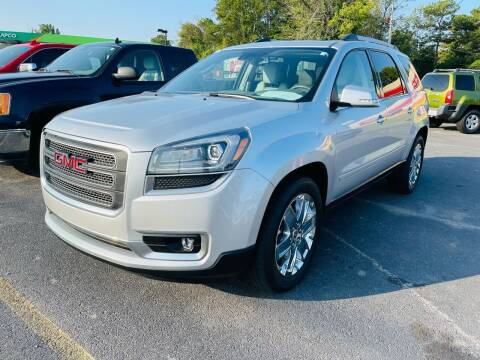 2017 GMC Acadia Limited for sale at BRYANT AUTO SALES in Bryant AR