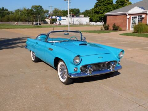 1956 Ford Thunderbird for sale at WEST PORT AUTO CENTER INC in Fenton MO