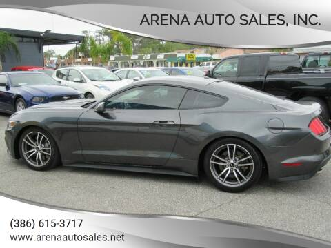 2015 Ford Mustang for sale at ARENA AUTO SALES,  INC. in Holly Hill FL