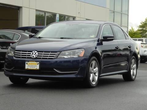 2013 Volkswagen Passat for sale at Loudoun Used Cars - LOUDOUN MOTOR CARS in Chantilly VA