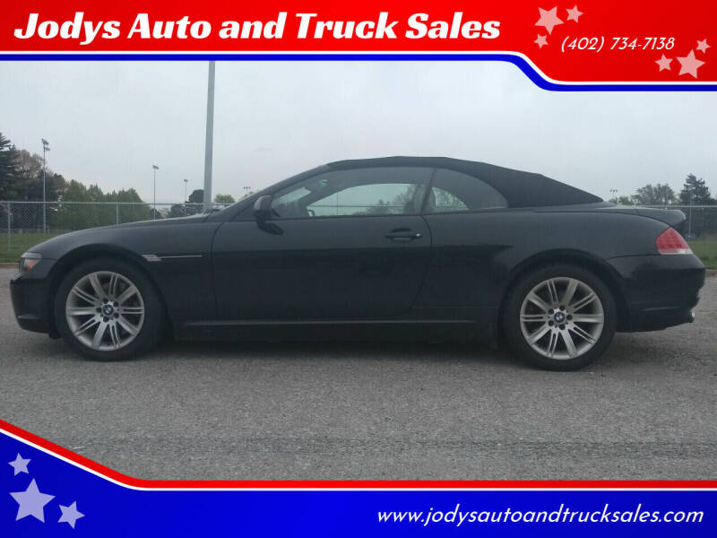 2006 BMW 6 Series for sale at Jodys Auto and Truck Sales in Omaha NE