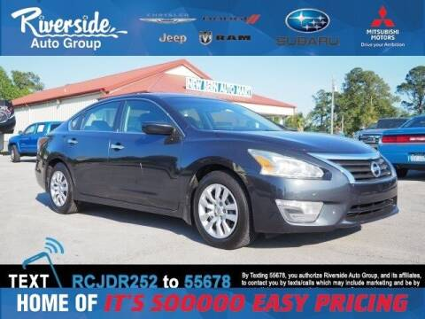2014 Nissan Altima for sale at Riverside Mitsubishi(New Bern Auto Mart) in New Bern NC