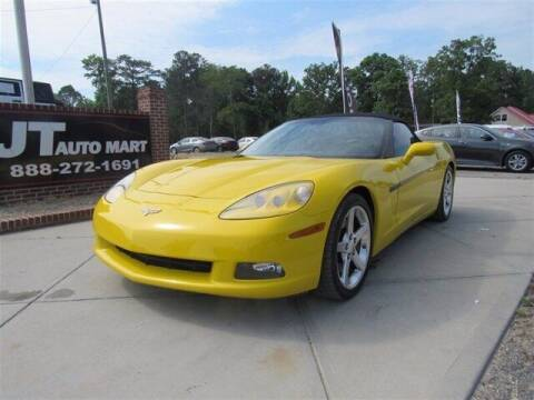2005 Chevrolet Corvette for sale at J T Auto Group in Sanford NC