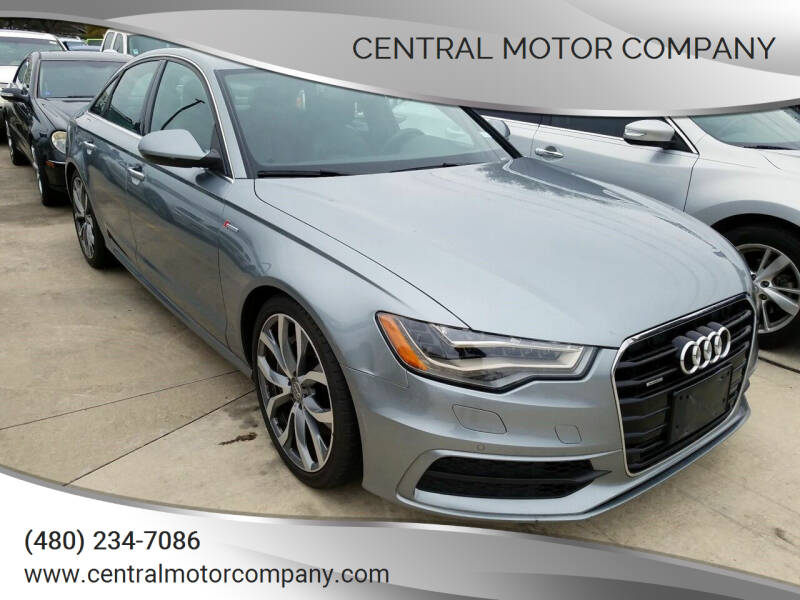 2013 Audi A6 for sale at Central Motor Company in Austin TX