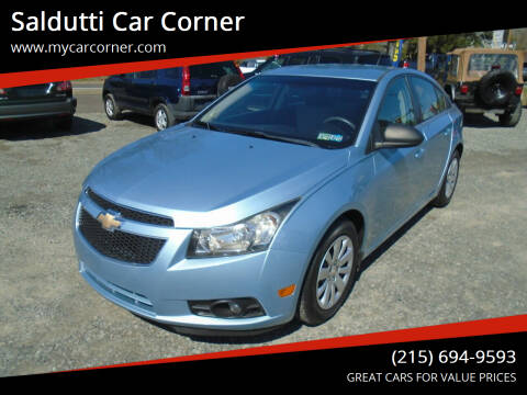 2011 Chevrolet Cruze for sale at Saldutti Car Corner in Gilbertsville PA