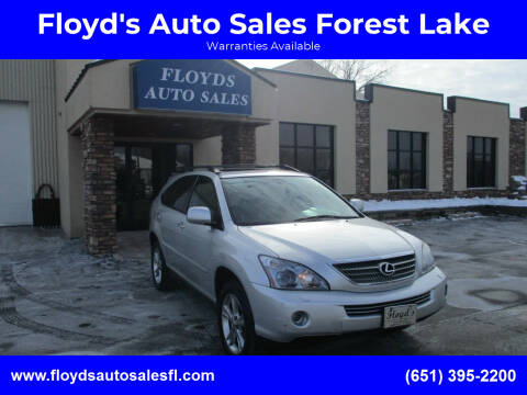 2008 Lexus RX 400h for sale at Floyd's Auto Sales Forest Lake in Forest Lake MN