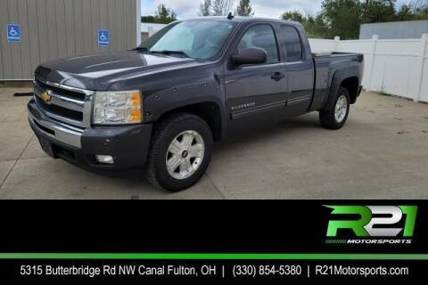 2010 Chevrolet Silverado 1500 for sale at Route 21 Auto Sales in Canal Fulton OH