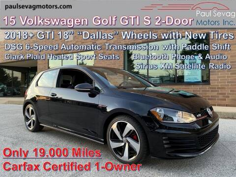 2015 Volkswagen Golf GTI for sale at Paul Sevag Motors Inc in West Chester PA