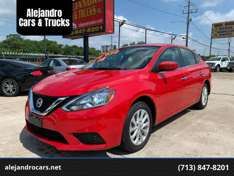 2018 Nissan Sentra for sale at Alejandro Cars & Trucks in Houston TX