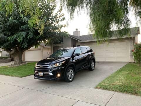 2018 Toyota Highlander for sale at Blue Eagle Motors in Fremont CA