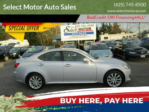 2008 Lexus IS 250 for sale at Select Motor Auto Sales in Lynnwood WA