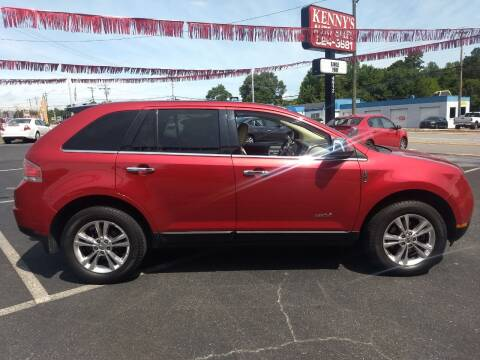2010 Lincoln MKX for sale at Kenny's Auto Sales Inc. in Lowell NC