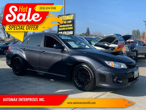 2012 Subaru Impreza for sale at AUTOMAX ENTERPRISES INC. in Roseville CA