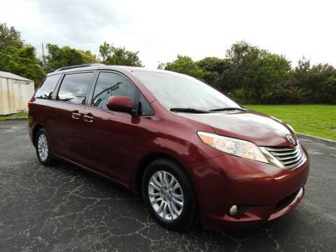 2016 Toyota Sienna for sale at SUPER DEAL MOTORS 441 in Hollywood FL