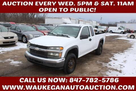 2007 Chevrolet Colorado for sale at Waukegan Auto Auction in Waukegan IL