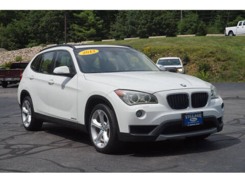 2013 BMW X1 for sale at VILLAGE MOTORS in South Berwick ME