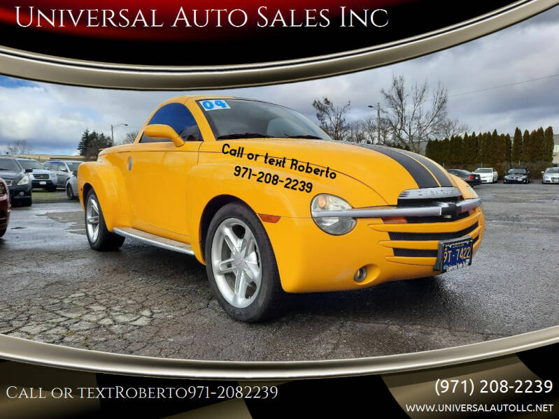 2004 Chevrolet SSR for sale at Universal Auto Sales Inc in Salem OR