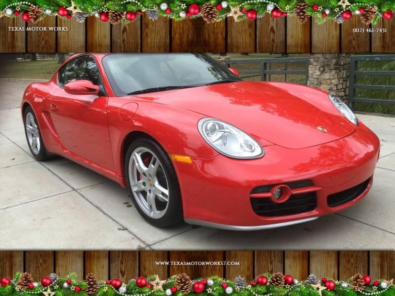2006 Porsche Cayman for sale at TEXAS MOTOR WORKS in Arlington TX