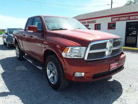 2009 Dodge Ram Pickup 1500 for sale at Sarpy County Motors in Springfield NE