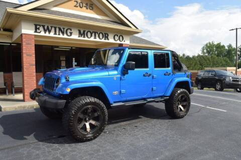 2014 Jeep Wrangler Unlimited for sale at Ewing Motor Company in Buford GA