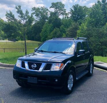 2005 Nissan Pathfinder for sale at ONE NATION AUTO SALE LLC in Fredericksburg VA