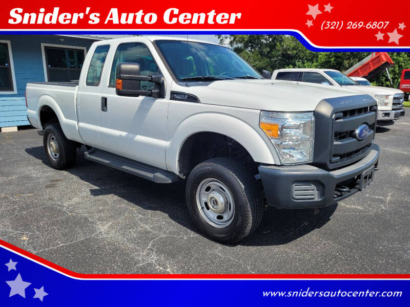 2015 Ford F-250 Super Duty for sale at Titus Trucks in Titusville FL