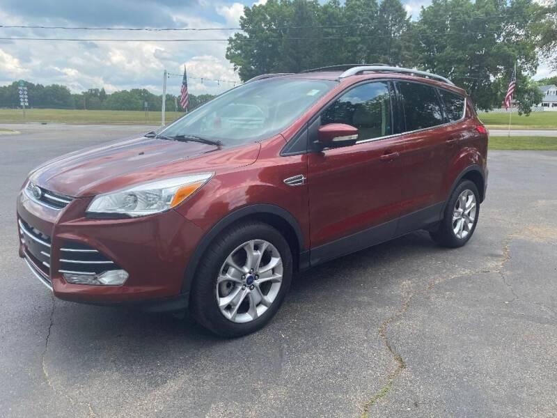 2014 Ford Escape for sale at Rombaugh's Auto Sales in Battle Creek MI