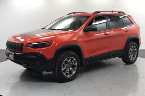 2021 Jeep Cherokee for sale at Stephen Wade Pre-Owned Supercenter in Saint George UT