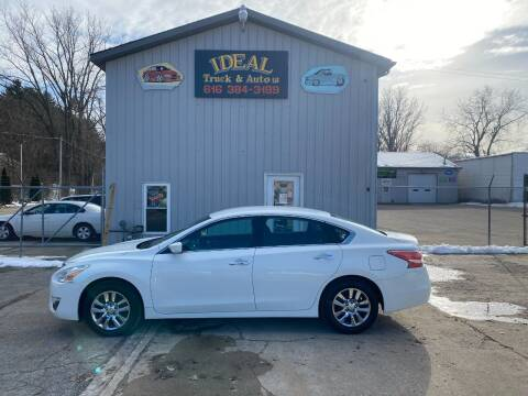2015 Nissan Altima for sale at IDEAL TRUCK & AUTO LLC in Coopersville MI