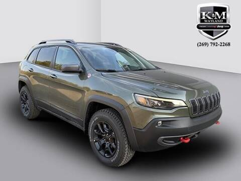 2021 Jeep Cherokee for sale at K&M Wayland Chrysler  Dodge Jeep Ram in Wayland MI