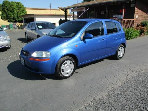 2004 Chevrolet Aveo for sale at Manzanita Car Sales in Gridley CA